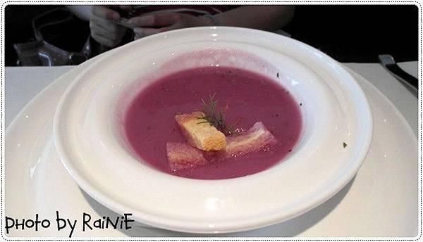 舒果*紫薯洋蔥濃湯