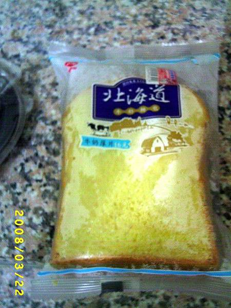 北海道牛奶厚片吐司