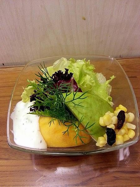 日光緩緩*花園蔬果沙拉 (優葛醬)