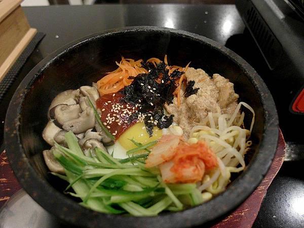 木瑾花韓式料理*香菇石鍋拌飯
