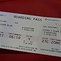 機票~6:10的飛機