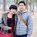 請韓國人幫我們拍照