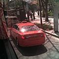 韓國計程車很多橘色