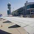 在仁川機場了
