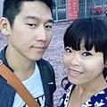 我們兩個第一次一起看演唱會