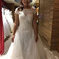 韓國手工白紗