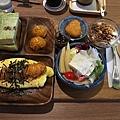 樂禾田*日式炸蝦蛋包飯