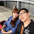 台南高鐵站等車ing