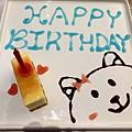 生日才有的蛋糕