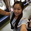 在火車上狂拍XDDDD