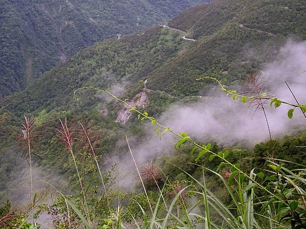 雲霧繚繞的山谷2