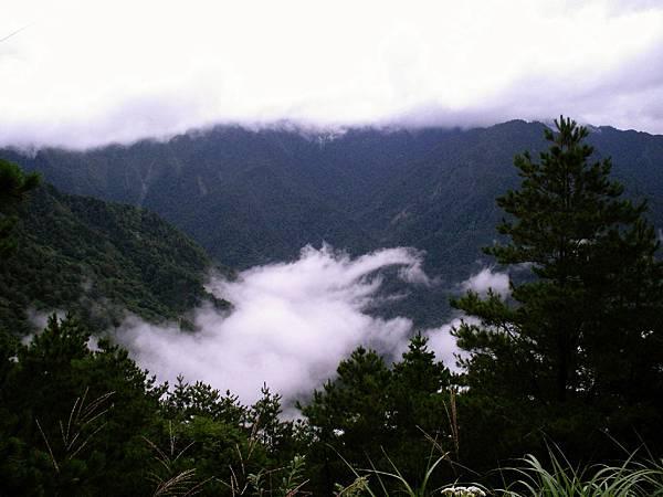 雲海保線所的視野開闊