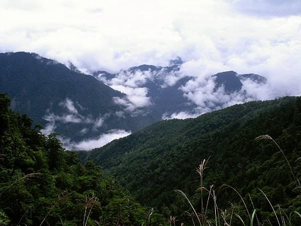 雲霧繚繞的山谷4