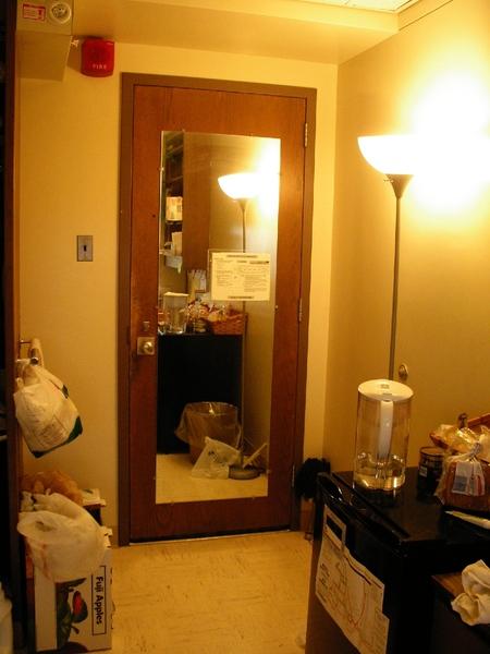 門上的鏡子