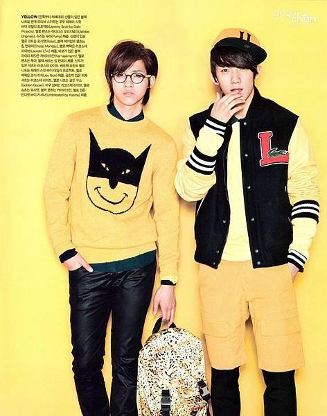 CNU+攻燦 for Vogue Magazine