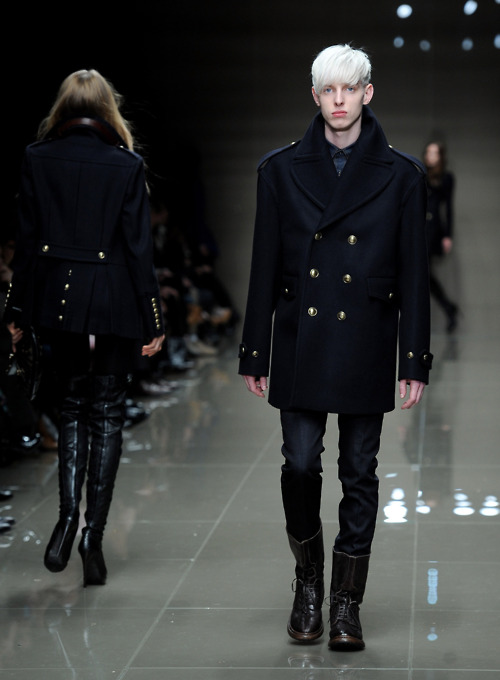 Thomas Penfound at burberry peacoats prorsum fw 2010
