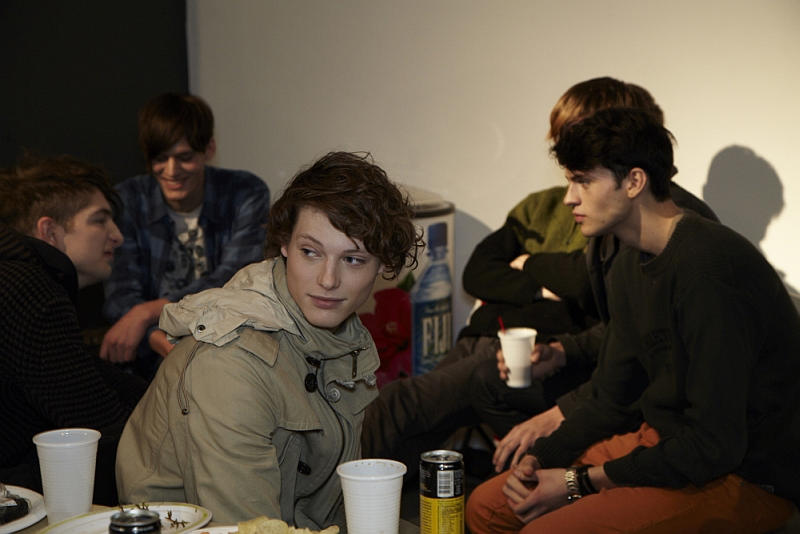 Behind the scenes Robert Geller FW 2011 by Jen Campbell.Kaan Tilki ,Chris Rayner,Silviu Tolu