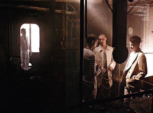 Blair Getz Mezibov for Men's VOGUE China 06