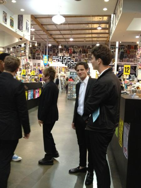 at Amoeba Records in Hollywood