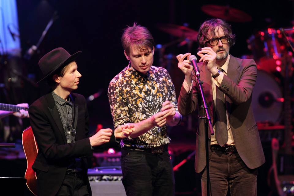 Franz Ferdinand on Beck: Song Reader at the Barbican in London by Burak Cingi, 8 july 2013