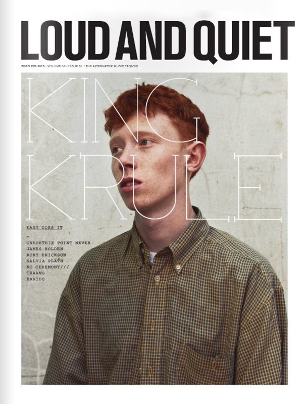 King Krule cover shoot for Loud&Quiet (Issue 51).jpg