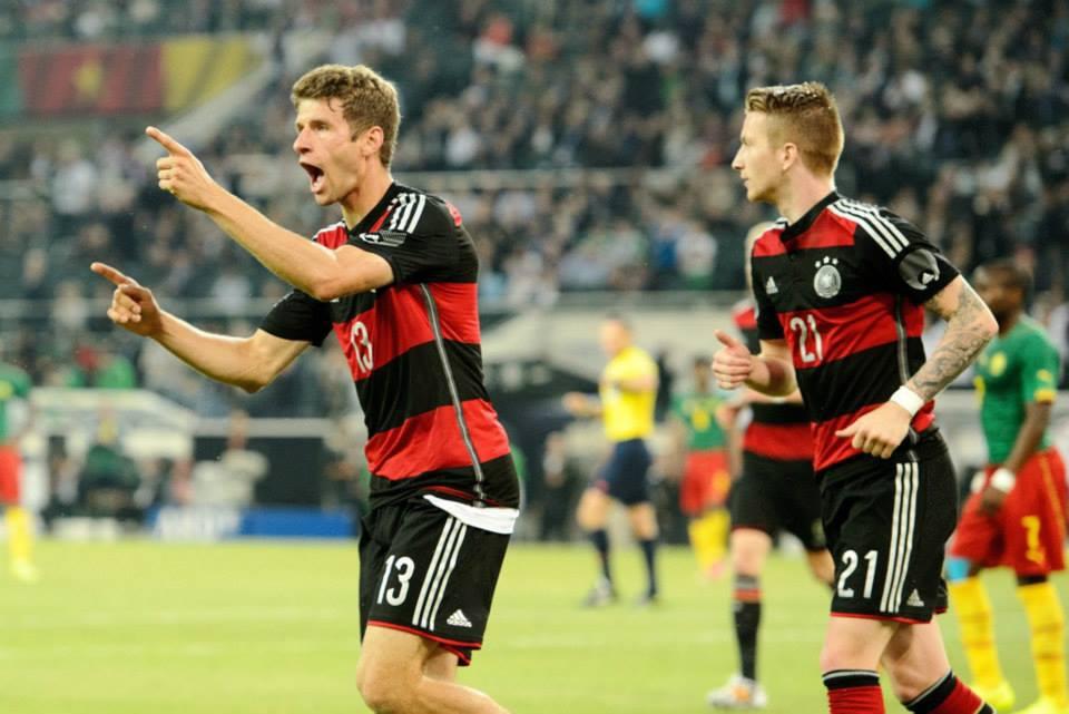 2014 世界盃友誼賽第一場