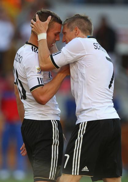 Bastian Schweinsteiger+Lukas Podolski