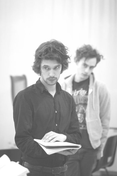 Peter and Alice, rehearsals.jpg