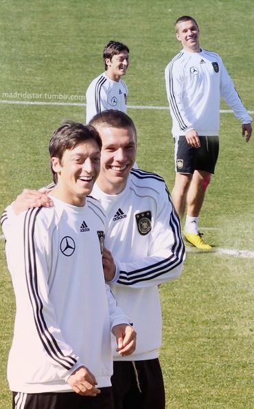 Mesut Ozil,Lukas Podolski