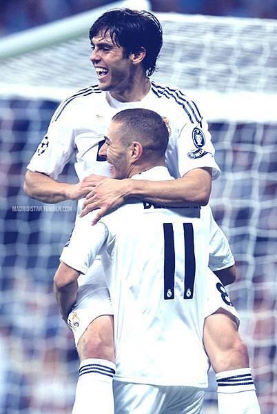 kaka&Karim Benzema