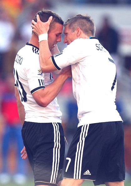 Lukas Podolski&Bastian Schweinsteiger