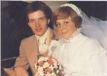 Ian Curtis和他老婆Deborah