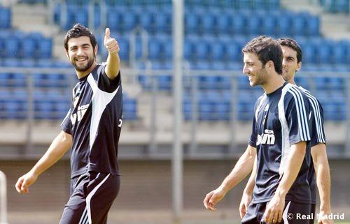 Raul Albiol,Gonzalo Higuain,alvaro arbeloa
