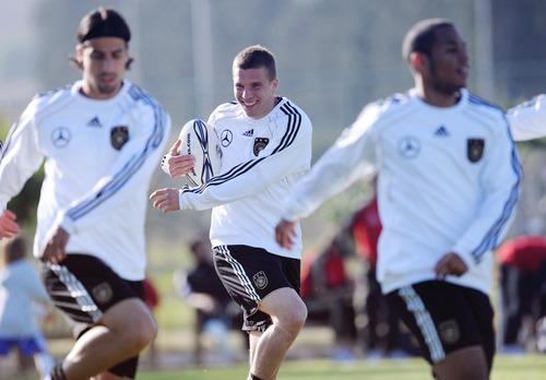 Sami Khedira,Lukas Podolski