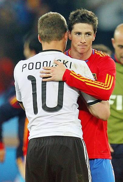 Lukas Podolski,Fernando Torres