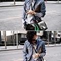 推薦身上這件基本不用换的毛衣,基本款的意義就在於此了!Shirt & Sweater by Club Monaco, FENDI Silvana Bag & Sunglasses, Zara Pouch, Guess Watch.