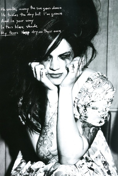 Ash Stymest as Amy Winehouse   Ph. Ellen von Unwerth