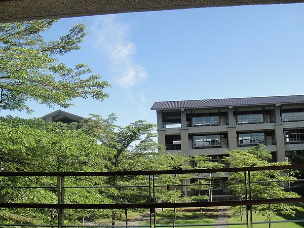 從教室看出去~我們的學校很美麗~