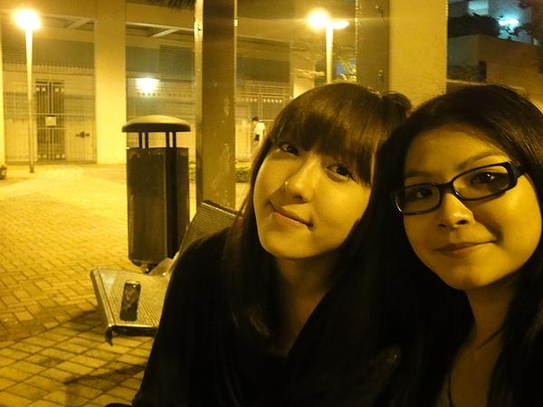 晚上香港的風真舒服~