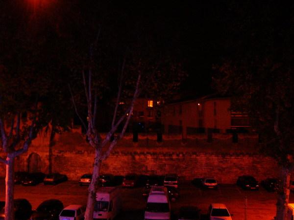 教皇城的夜景