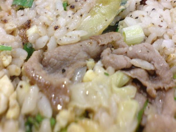 炒飯的肉片