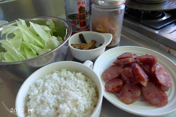 20121021-高麗菜香腸炊飯-16