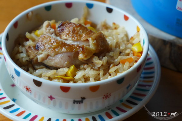20121204-薑味雞肉炊飯-01