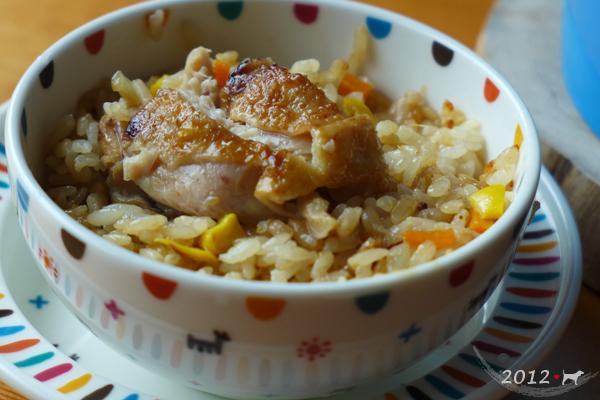20121204-薑味雞肉炊飯-02