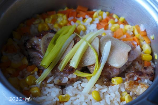 20121204-薑味雞肉炊飯-05