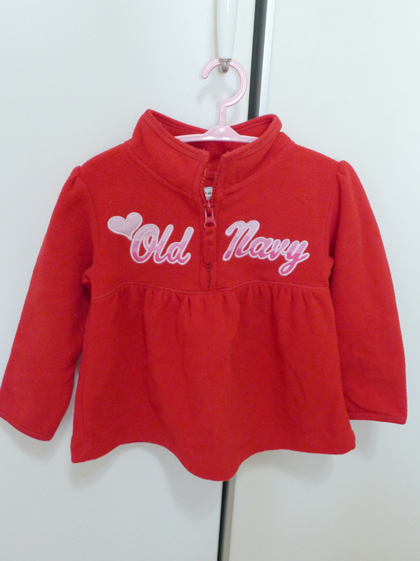 Old Navy 刷毛上衣 2T-NT100