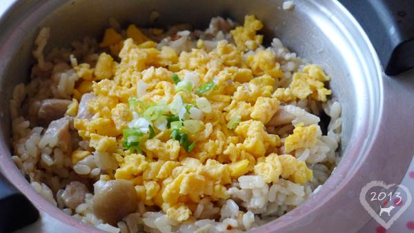 20130531-雞肉菇菇蛋鬆飯-03