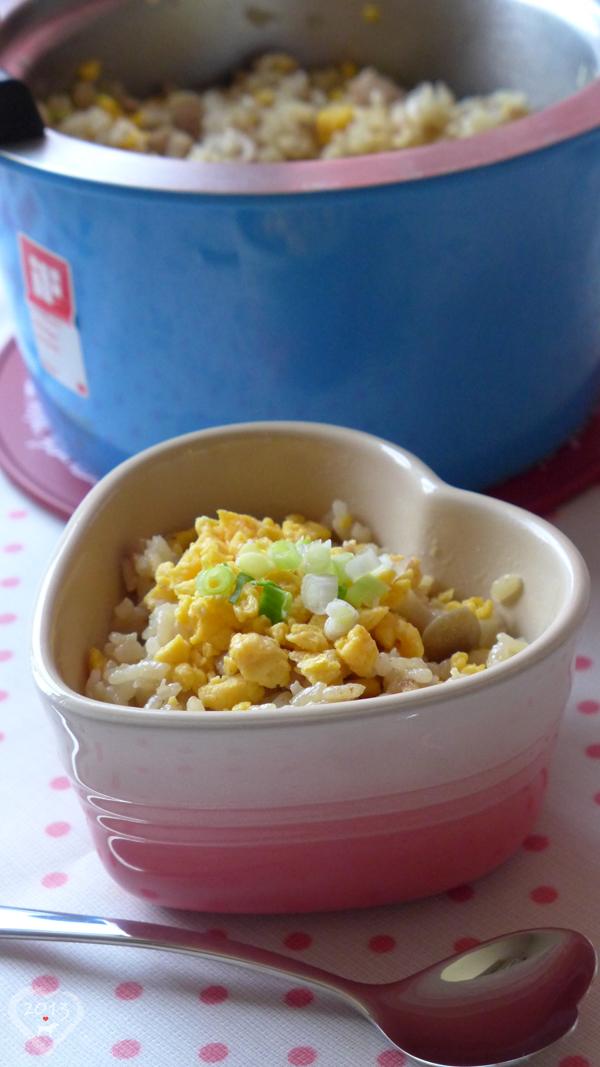 20130531-雞肉菇菇蛋鬆飯-02