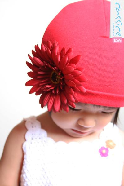 紅太陽花帽-NT480