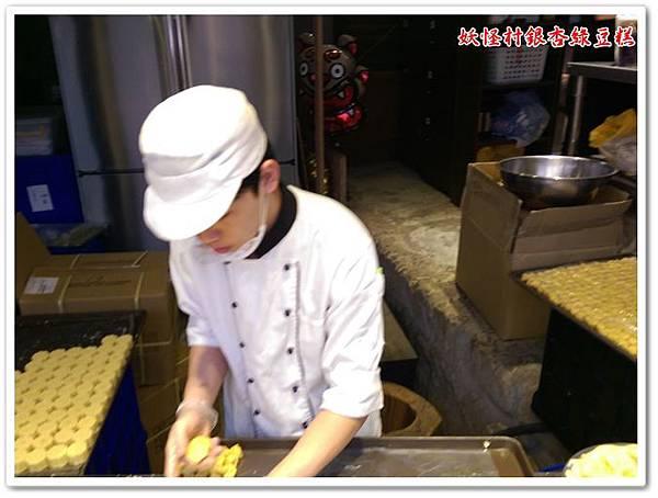 溪頭妖怪村銀杏綠豆糕 03